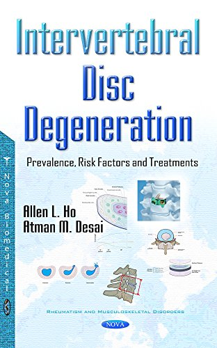9781634858298: Intervertebral Disc Degeneration: Prevalence, Risk Factors and Treatments (Rheumatism and Musculoskeletal Disorders)