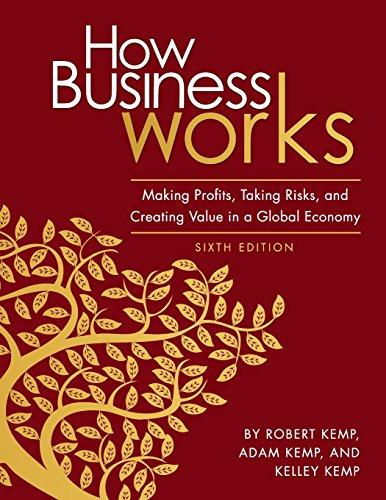 How Business Works: Making Profits, Taking Risks,: Kemp, Robert, Kemp,