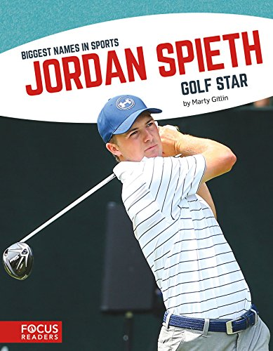 Jordan Spieth 9781635171013 Introduces readers to the life and career of star golfer Jordan Spieth. Colorful spreads, fun facts, interesting sidebars, and a map of important places in his life make this a thrilling read for young sports fans.