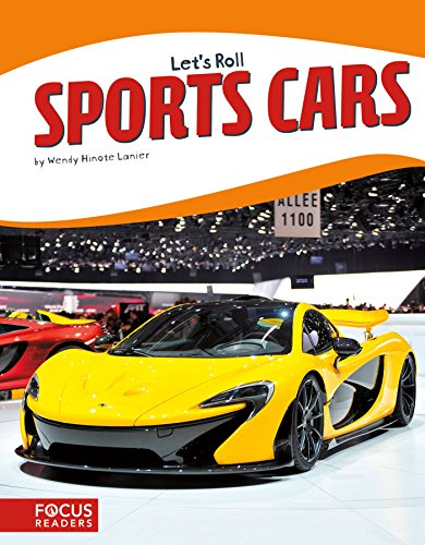 9781635171068: Sports Cars (Let's Roll) (Focus Readers: Let's Roll: Beacon Level)