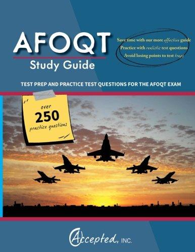 Best afoqt study guide books