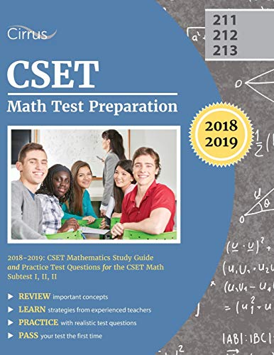 CSET Math Test Preparation 2018-2019: CSET Mathematics Study Guide and Practice Test Questions for ...