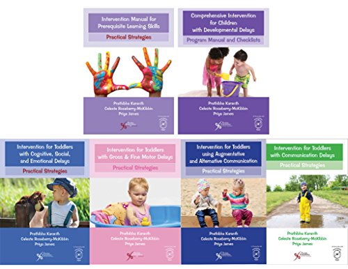 9781635500035: Comprehensive Intervention for Children with Developmental Delays and Disorders: Practical Strategies for Toddlers: Toddler Intervention Manual 6 books