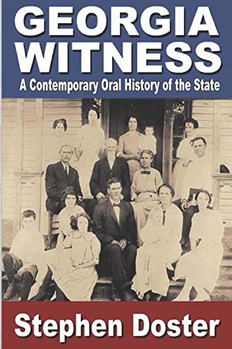 9781635540109: Georgia Witness: A Contemporary Oral History of the State