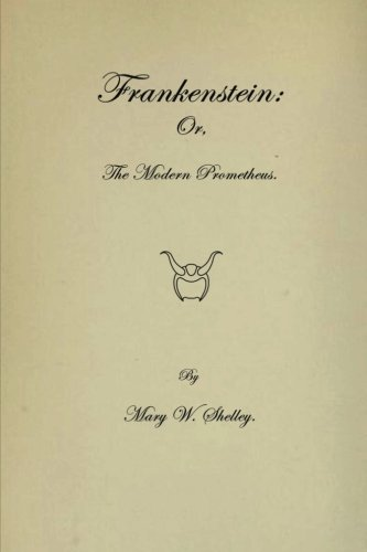 9781636001593: Frankenstein: Or The Modern Prometheus