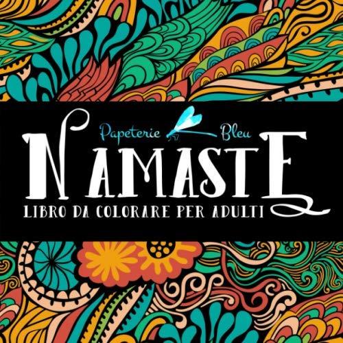 9781640010352: Namaste: Libro Da Colorare Per Adulti