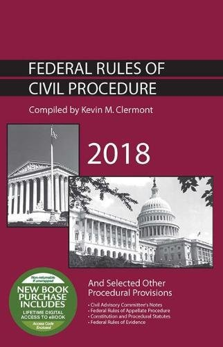 9781640208834: Federal Rules of Civil Procedure and Selected Other Procedural Provisions (Selected Statutes)
