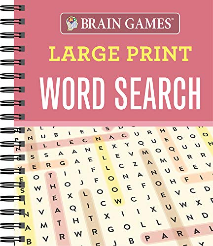 Brain Games® Large Print Word Search: Editors of Publications International Ltd.