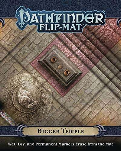 9781640781375: Pathfinder Flip-Mat: Bigger Temple