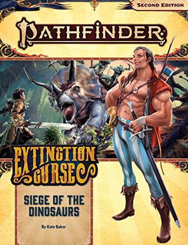 9781640782266: Pathfinder Adventure Path: Siege of the Dinosaurs (Extinction Curse 4 of 6) (P2)