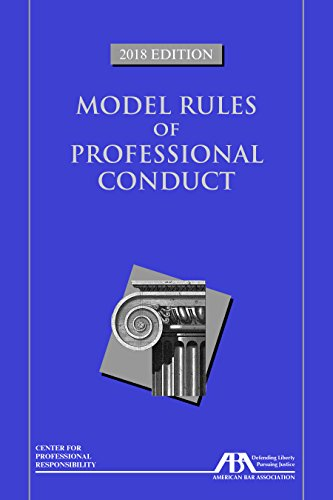 9781641051583: Model Rules of Professional Conduct