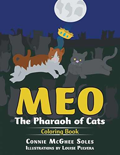 9781641331296: Meo: The Pharaoh of Cats Coloring Book