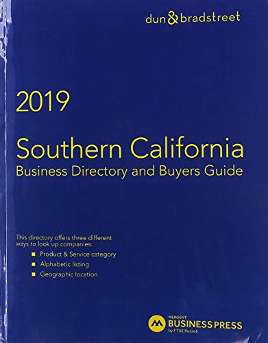 Harris Southern California Business Directory And Buyer's: Mergent Inc. (cor),