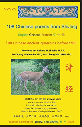108 Chinese Poems from Shijing: 108 Chinese: Du, Sen