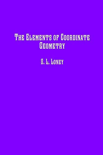 9781642270440: The Elements of Coordinate Geometry