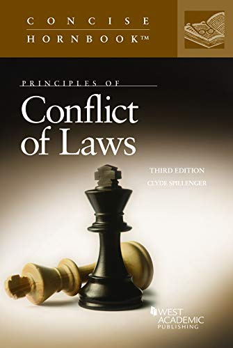 9781642420999: Principles of Conflict of Laws (Concise Hornbook Series)