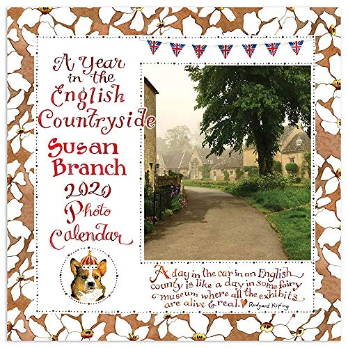 9781643320656: A Year in the English Countryside 2020 Calendar