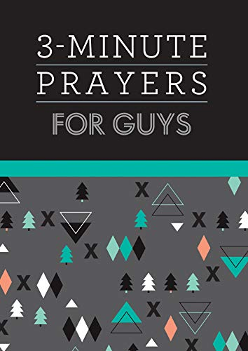 9781643521879: 3-Minute Prayers for Guys (3-Minute Devotions)