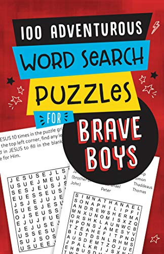 9781643527888: 100 Adventurous Word Search Puzzles for Brave Boys
