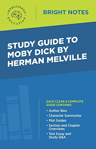 9781645422082: Study Guide to Moby Dick by Herman Melville