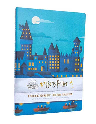 9781647220839: Harry Potter: Exploring Hogwarts Sewn Notebook Collection (Set of 3)