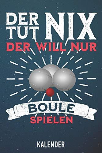 9781655860676: Kalender: 2020 A5 1 Woche 2 Seiten - 110 Seiten - Der tut nix Boule (German Edition)