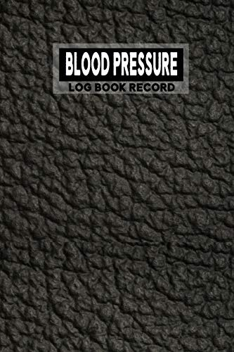 Blood Pressure Log Book Record: 2 year: Daily Tracking Guide