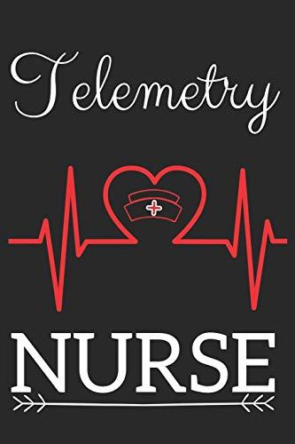 Telemetry Nurse: Nursing Valentines Gift (100 Pages,: Nurse Notes Collection