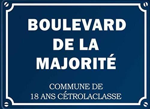 9781657101395: Boulevard De La Majorité - Commune de 18 ans Cétrolaclasse: livre d'or 18 ans