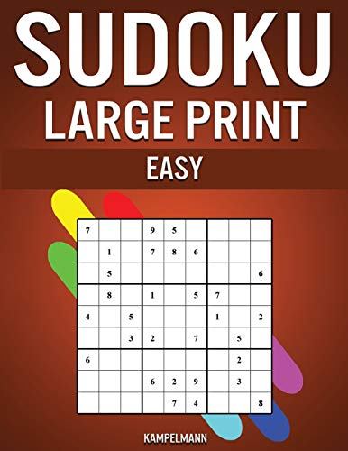 9781657827042: Sudoku Large Print Easy: 250 Large Print Easy to Solve Sudokus with Solutions