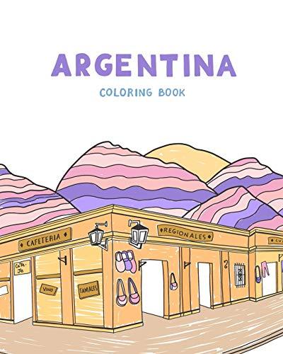 9781658150538: Argentina: Coloring book