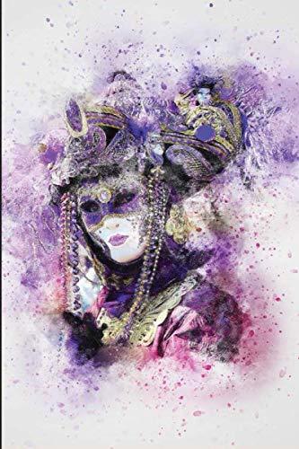 "9781658749398: Venice carnival 2020: Carnevale Di Venezia Notebook | Carnival Of Venice | Il Carnevale a Venezia | Photography Of Venetian Mask At Venice Carnival ... College Ruled Size 6"" x 9"" | 120 Pages"