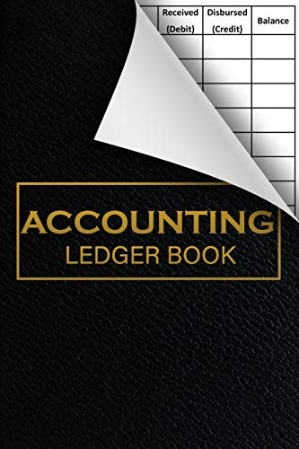 Accounting Ledger Book: 6 Column Payment Record: Business Tracking Books