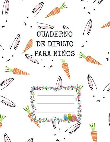 9781660238699: Cuaderno de dibujo para niños | Lapin: Una libreta para niños, de 100 páginas 8.5 x 11 inches (21,59cm x 27,94cm) con papel de color blanco para dibujo