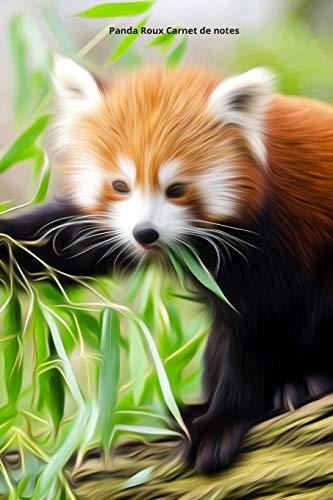 9781670463043: Panda Roux Carnet de notes: Journal A5 ligné original de 119 pages- Une belle idée de cadeau pour les amoureux des animaux