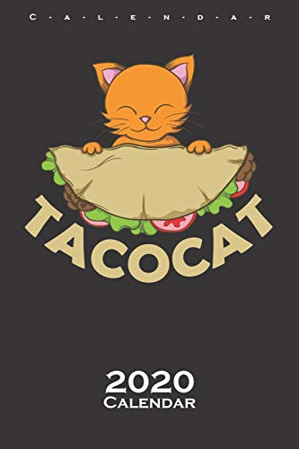 9781670769053: Tacocat Cat with Taco Calendar 2020: Annual Calendar for animal friends, who love the flightless kiwi bird from New Zealand