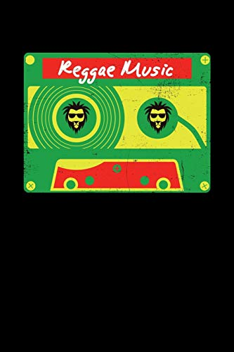 9781673270822: Reggae Music: Gift idea for reggae lovers and jamaican music addicts. 6 x 9 inches - 100 pages