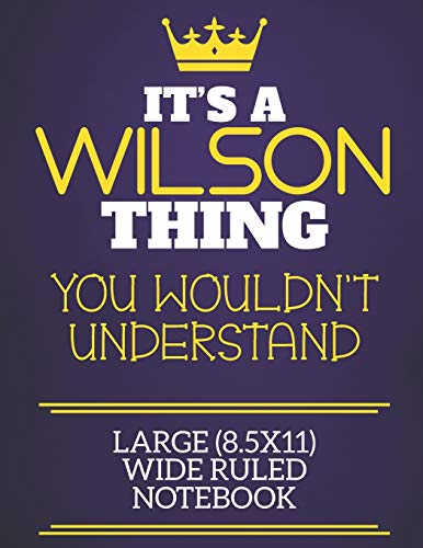 It's A Wilson Thing You Wouldn't Understand: Wilson Sur Charlie