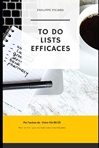 9781674495804: ToDo Lists Efficaces