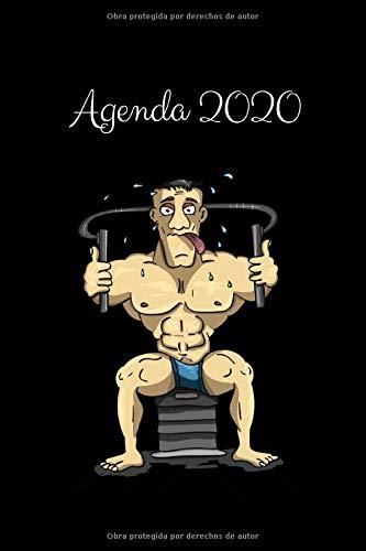 9781675724675: Agenda 2020: Regalo para Amantes del Gimnasio, Calendario 2020, Agenda Semanal y Mensual, Enero 2020 - Diciembre 2020, 15.24x22.86 cm