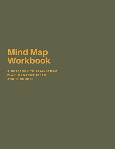 9781677083152: Mind Mapping Workbook: A Notebook to Brainstorm, Plan, Organize Ideas and Thoughts. A Journal for Creativity and Visual Thinking