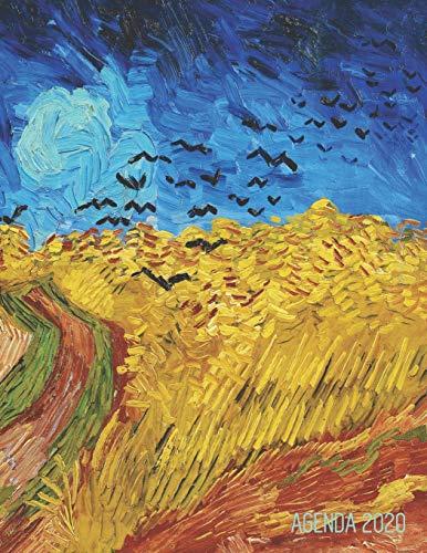 9781679802881: Vincent Van Gogh Agenda Mensuel 2020: Champ de Blé aux Corbeaux | Postimpressionisme | Planificateur Hebdomadaire | Avec Espaces pour Notes | Calendrier Janvier à Décembre 2020