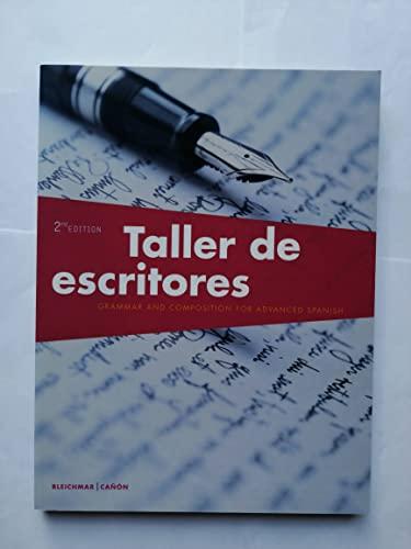 9781680040067: Taller de escritores, 2nd Edition