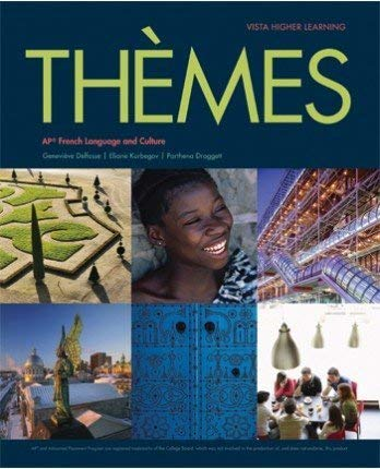 9781680040340: Themes AP French Language and Culture, Student Edition plus Supersite and vText