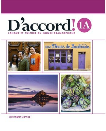 9781680041255: D'accord 1A Student Edition with Supersite Plus Code (SS and vText)