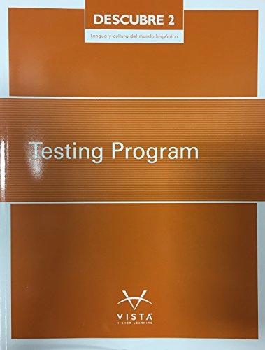 9781680046625: Descubre 2 - Lengua y Cultura Del Mundo Hispanico, Testing Program