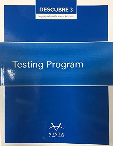 9781680047134: Descubre 3 - Lengua y Cultura Del Mundo Hispanico, Testing Program