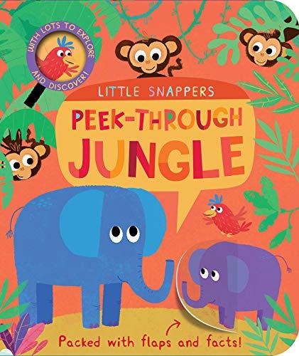 9781680105049: Peek-Through Jungle (Little Snappers)