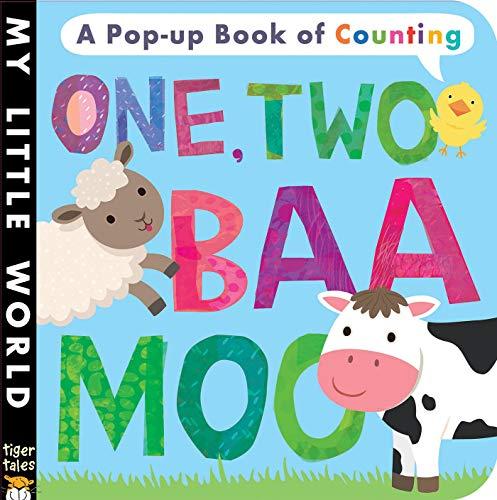 9781680105070: One Two, Baa Moo (My Little World)