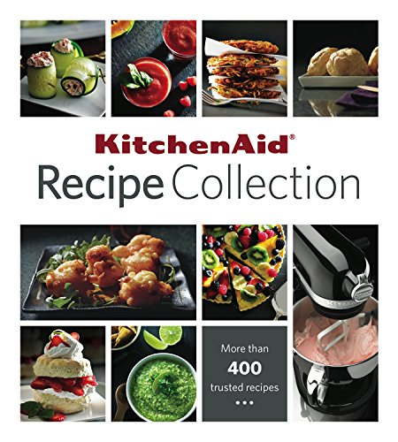 Kitchenaid Recipe Collection 9781680220209 This KitchenAid Recipe Collection binder features more than 400 recipes from one of the most trusted names in cooking. This all-encompassing cookbook opens a world of culinary possibilities. Learn to master homemade pasta, chicken broth, pie pastry and other staples in the opening chapter of Basic Recipes. Or explore an exciting mix of flavors from the tried and true to fresh and unexpected combinations for every part of the day. The KitchenAid Recipe Collection is comprehensively divided into 21 tabbed sections: Basic Recipes; Breakfast and Brunch; Juices and Smoothies; Appetizers; Salads; Soups and Stews; Sandwiches, Burgers and Pizza; Pasta; Beef, Pork and Lamb; Poultry; Fish and Seafood; Vegetarian Entrees; Side Dishes; Breads; Muffins, Scones and Biscuits; Cookies; Brownies and Bars; Cakes and Cupcakes; Pies, Tarts and Crisps; and Desserts; Index Please note: This is not a KitchenAid Stand Mixer cookbook - It is a comprehensive collection of recipes for every kitchen. If you are interested in a cookbook specifically for your Stand Mixer and attachments, please buy the KitchenAid Stand Mixer Cookbook.